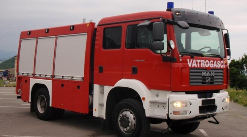 Vatrogasci u TK imali tri intervencije