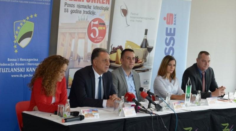 Festival bh. vina i hrane 5. i 6. oktobra u Tuzli