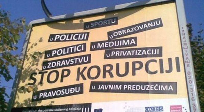 "Uskoro počinje kampanja ""Stop korupciji"""