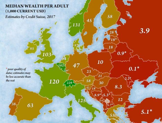 BiH među najsiromašnijim zemljama Evrope