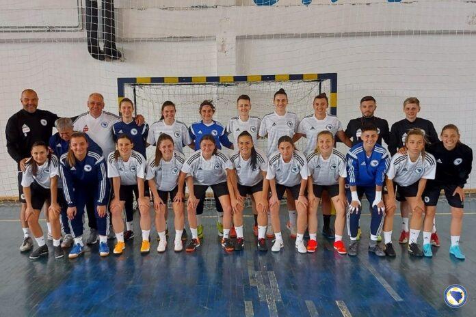 Futsal reprezentativke BiH neuspješne na startu kvalifikacija