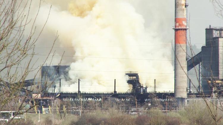 Ekološki incident: Veliki dim iznad lukavačke koksare