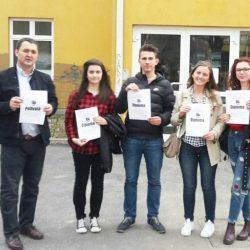 JU Gimnazija Živinice: Šampioni TK iz njemačkog jezika