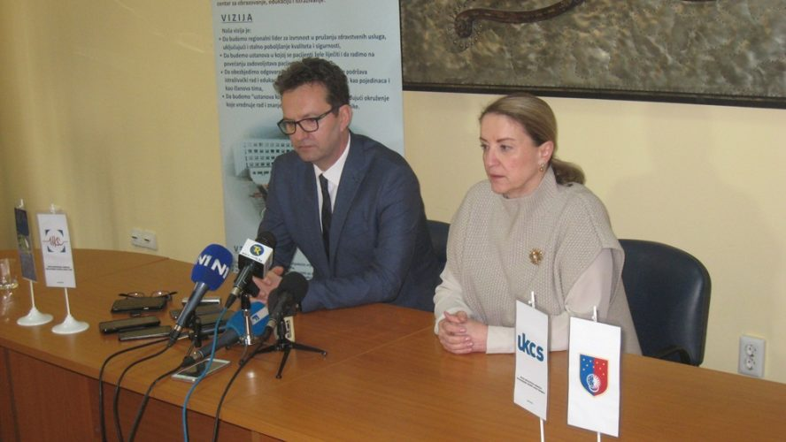 Delegacija KCUS-a u posjeti tuzlanskom UKC-u: Razmjena ljekara za što bolju uslugu pacijentima