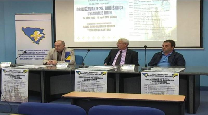 U susret 25. godišnjici Armije R BiH: Centralno okupljanje branilaca u Lukavcu