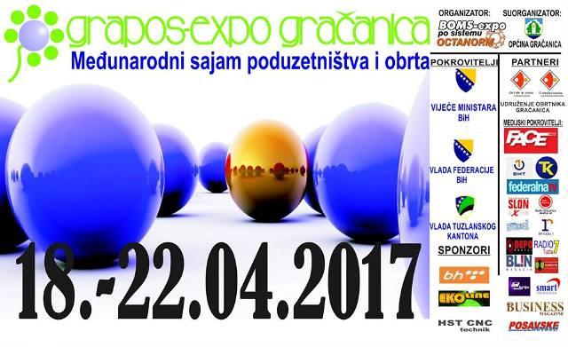 U Gračanici od sutra sajam GRAPOS EXPO