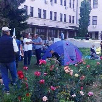 Borci iz TK na protestima u Sarajevu – Sa njima i Gračanlije