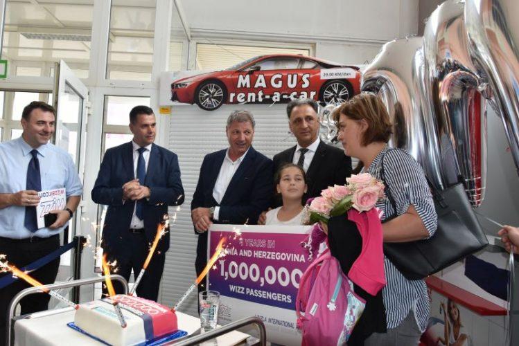 Wizz Air proslavlja novi rekord u Tuzli - Milion prevezenih putnika!