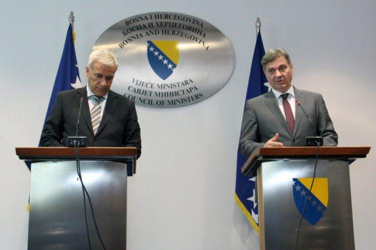 Ramljak u Sarajevu: Stabilizirali smo finansiranje Agrokora, posvetit ćemo se situaciji u BiH
