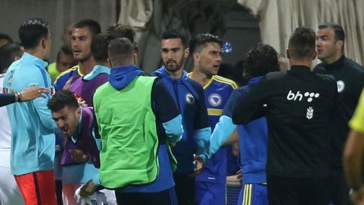 Slijede kazne: Osim Gillija na meti FIFA-e Džeko i Bešić