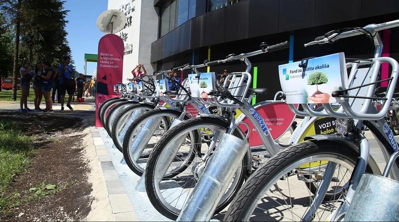Nextbike stigao u Tuzlu, 25 bicikala raspoređeno na tri lokacije