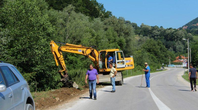 Sapna: Izgradnja pješačke staze