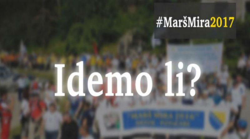 U ponedjeljak provjere za 'Marš mira Nezuk – Potočari 2017'
