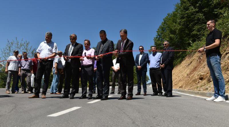 Svečano otvorena rekonstruisana dionica regionalnog puta Sapna – Teočak