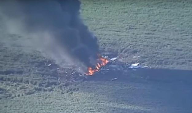 Srušio se američki vojni zrakoplov, poginulo 16 ljudi (VIDEO)