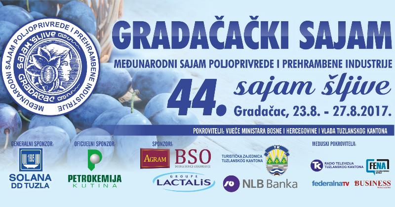 Sajam šljive u Gradačcu od 23. do 27. augusta: Do sada prijavljeno više od 150 izlagača