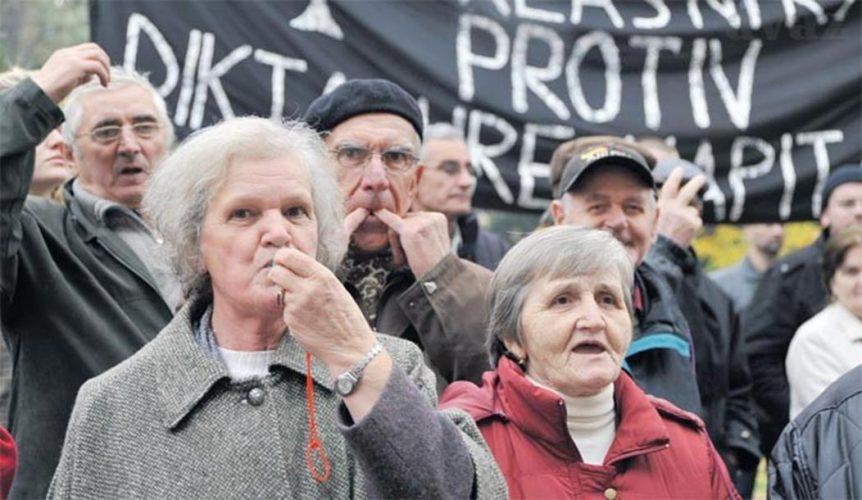 Penzioneri iz FBiH izlaze na masovne proteste 14. septembra