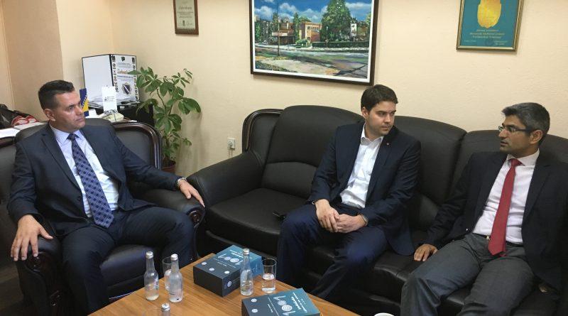 Premijer TK susreo se sa direktorom Turske uprave za međunarodnu saradnju i razvoj