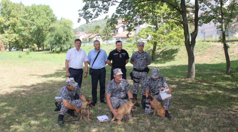 MUP-u TK donirana tri službena psa