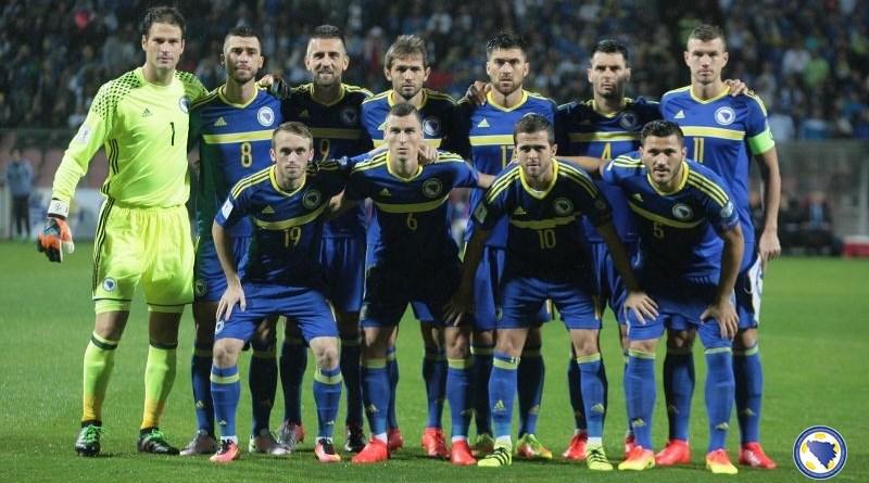 BiH na 36. mjestu FIFA-ine rang liste