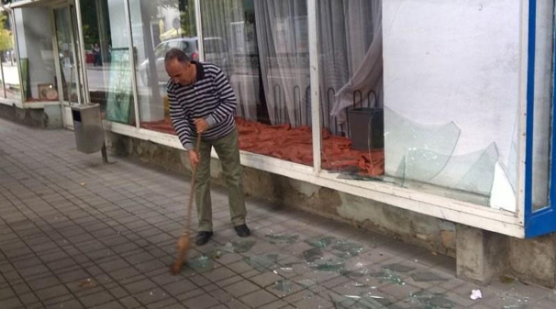 Razbijen izlog na prostorijama BZK 'Preporod' u Gradačcu