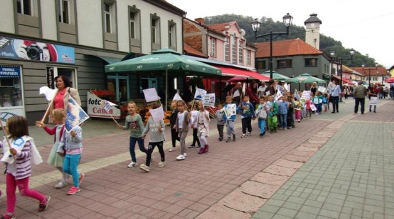 Gračanica: Najmlađi obilježili Evropsku sedmicu mobilnosti