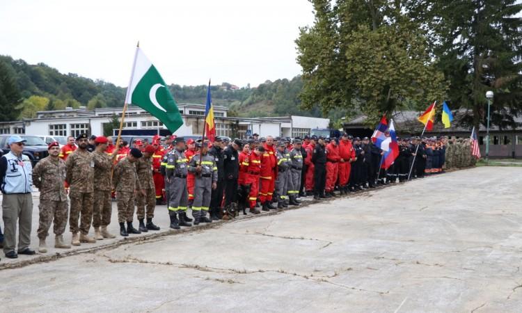 Zvanično otvorena terenska vježba 'Bosna i Hercegovina 2017'