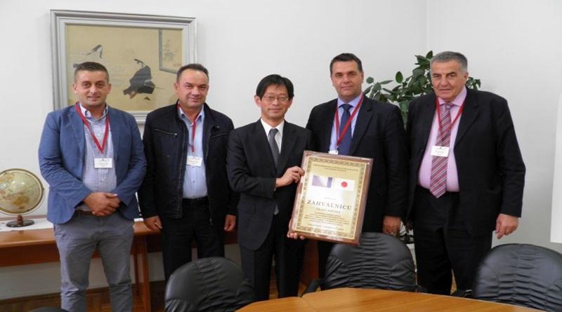 U Tuzli se susreli premijer TK i ambasador Japana
