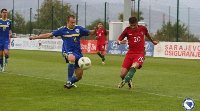 Mladi reprezentativci BiH nadigrali Portugal