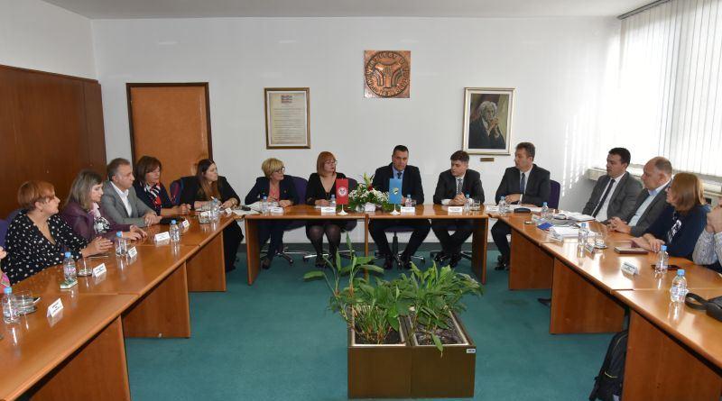 Sastanak članova Vlade TK i Univerziteta: U narednom periodu ulaganje u ovu ustanovu od 1,5 miliona KM