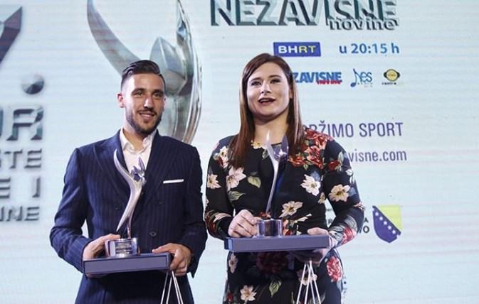 Damir Džumhur i Larisa Cerić najbolji sportisti BiH u 2017.