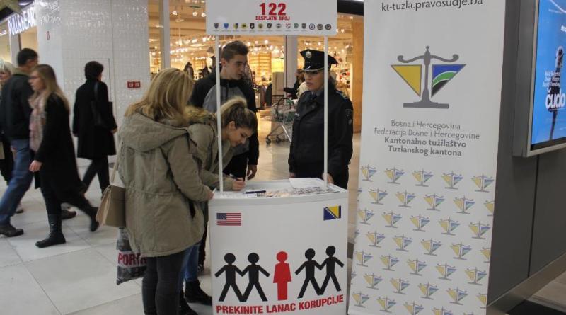 "Kampanja ""Stop korupciji"" u Tuzli"