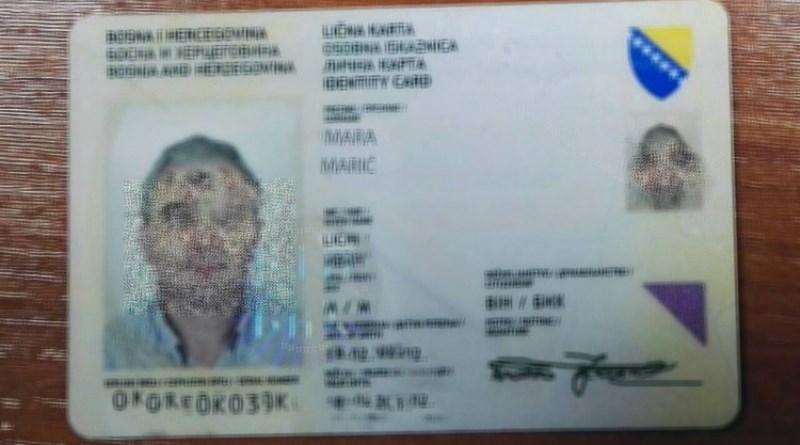 Krađa identiteta: Tuđom kopijom lične iskaznice registrirao poduzeće