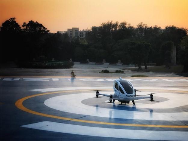 Kineska kompanija predstavila leteće taksije (VIDEO)