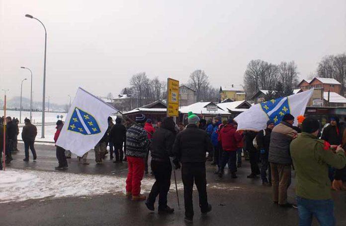 Borci blokirali glavne saobraćajnice u FBiH