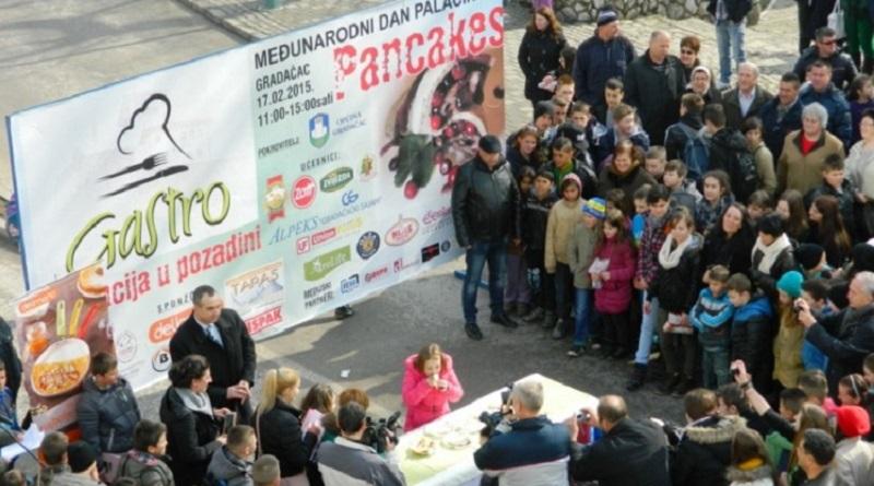 Dan palačinaka u Gradačcu, Zenici i Bihaću