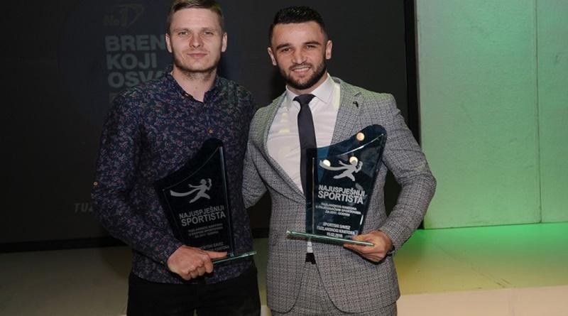 Selimović i Hasandić najuspješniji sportisti TK u 2017. godini