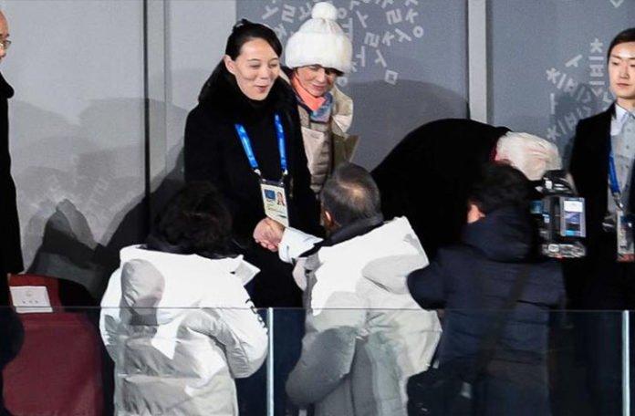 Historijsko rukovanje sestre Kim Jong Una i južnokorejskog predsjednika