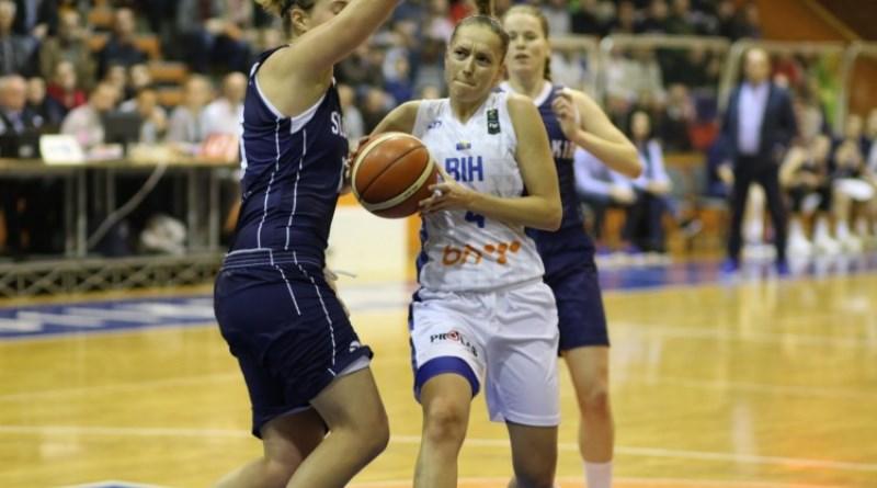 Bh. košarkašice poražene u Slovačkoj