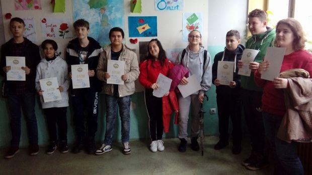 Druga OŠ: Održano općinsko takmičenje iz engleskog jezika