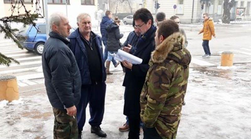 Svih osam uhapšenih boraca pušteno nakon saslušanja u MUP-u TK