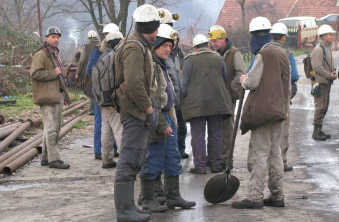 Rudari Kreke stupili u štrajk: Uplatite nam plate i doprinose