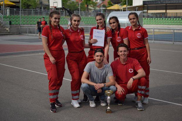 Prva pomoć: Tim mladih šampion Tuzlanskog kantona