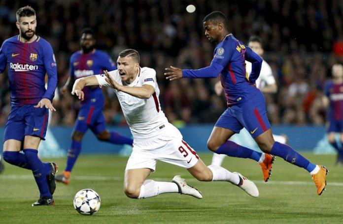 Džeko: Sudija nije imao hrabrosti dosuditi penal protiv Barcelone