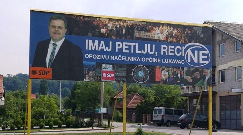 Referendum u Lukavcu: Hoće li Edin Delić ostati načelnik ili ne?