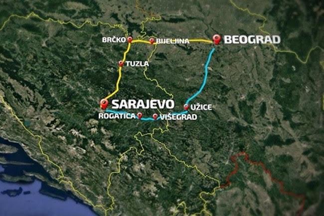 Finansiranje autoputa Sarajevo – Beograd kreditnom linijom
