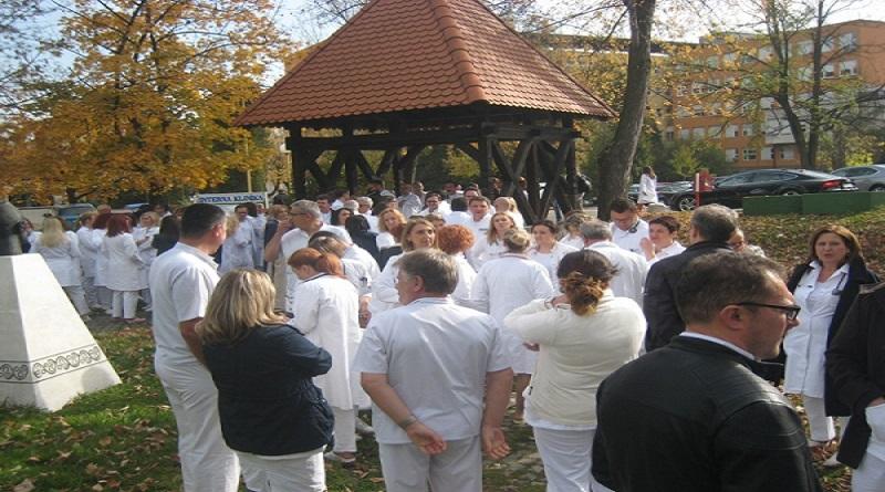U Tuzlanskom kantonu počeo generalni štrajk doktora