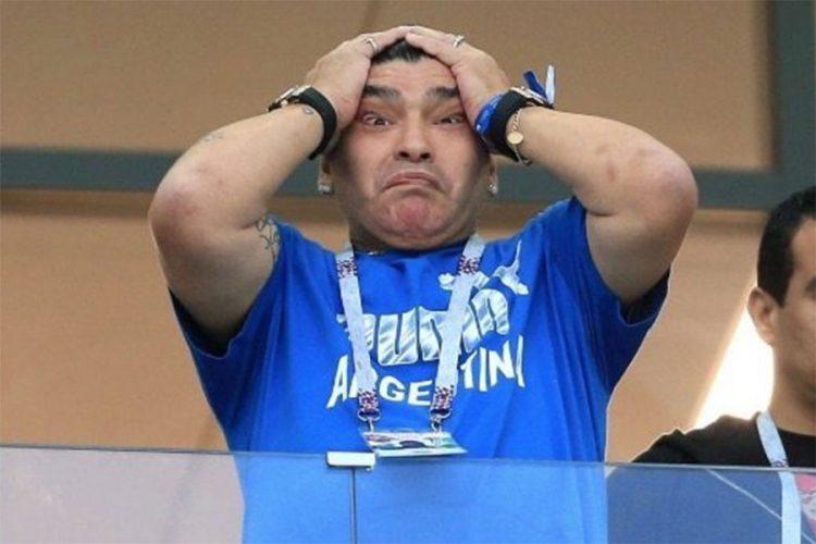 Maradona traži da prisustvuje treningu Argentine
