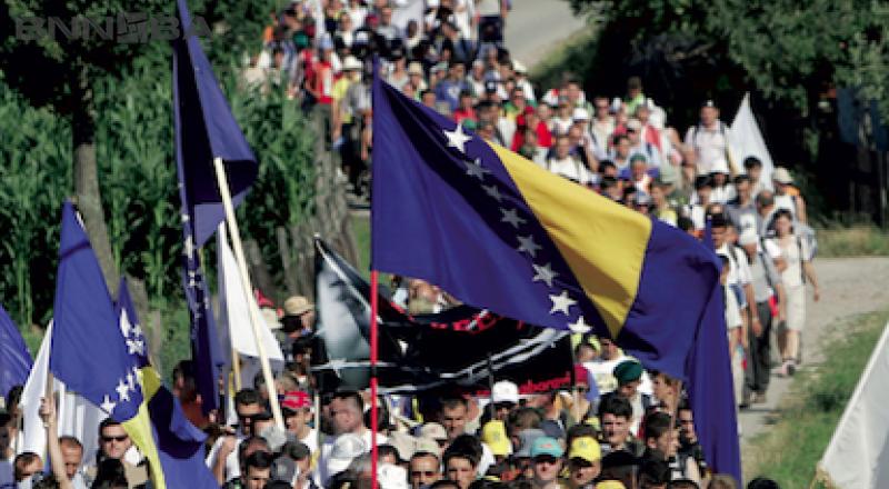 """Srebrenica: Poziv za učešće u programskim sadržajima """"Marša mira 2018"""""""