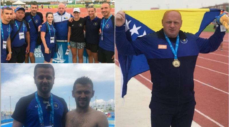 BiH završila nastup na Mediteranskim igrama sa pet medalja